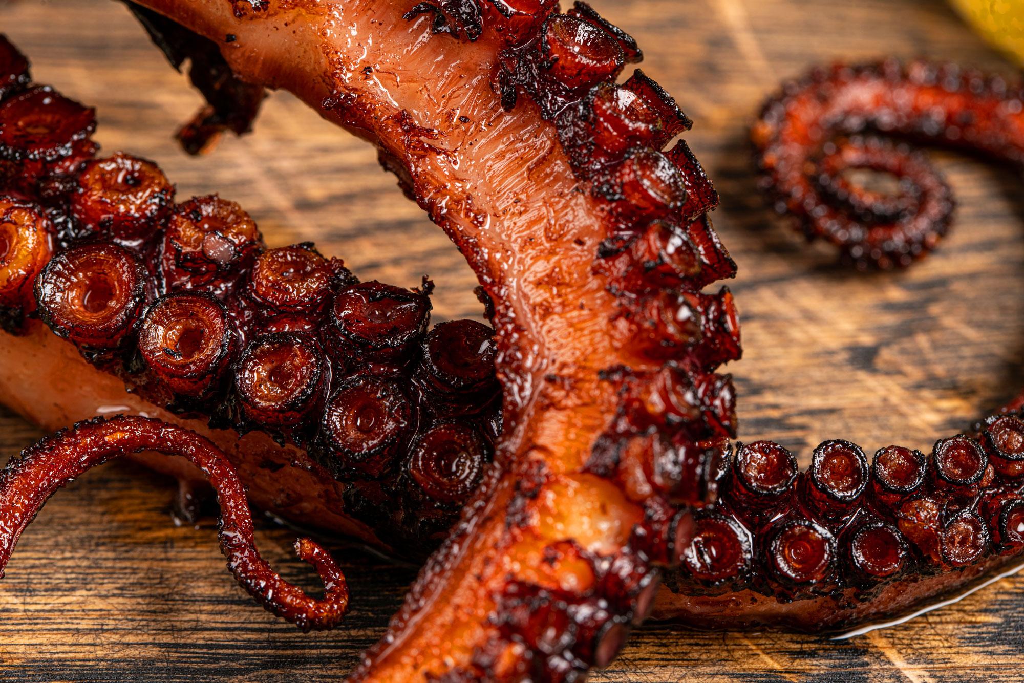 Juliette's Bistro - Grilled Octopus