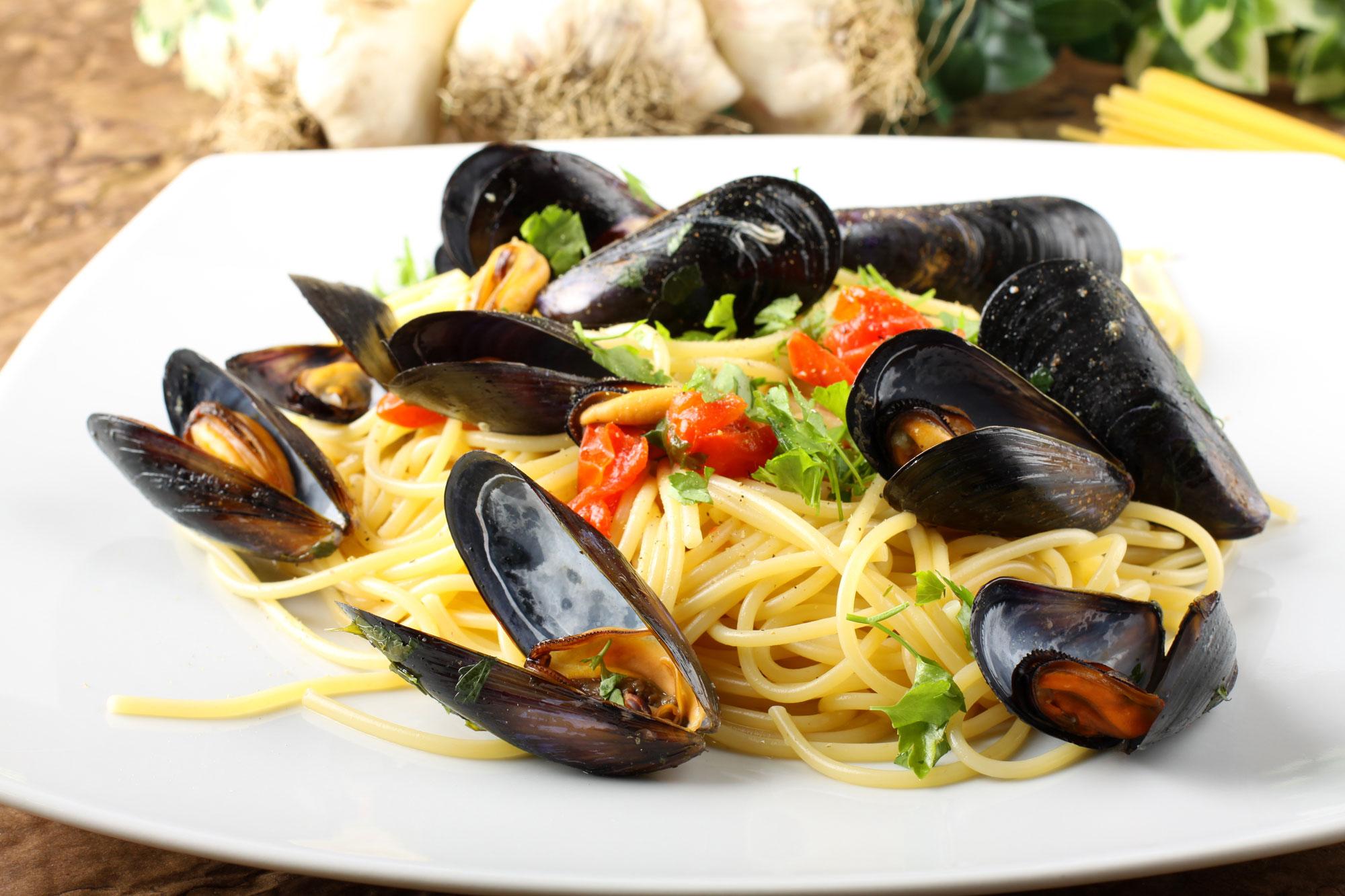 Juliette's Bistro - Drunken Mussels Pasta